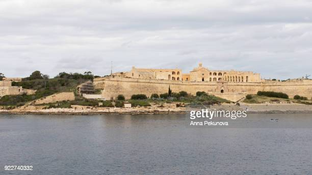 Panoramic view of Fort Manoel, Manoel Island, Malta