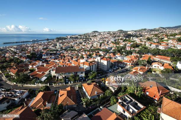 Panoramic View of Funchal, Madeira