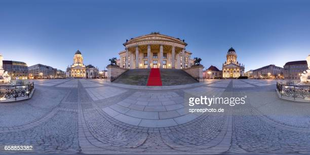 360° Panoramic View of Gendarmenmarkt Berlin