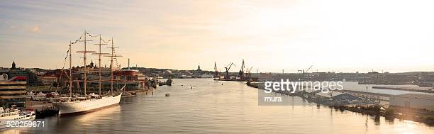 Panoramic view of Gothenburg city