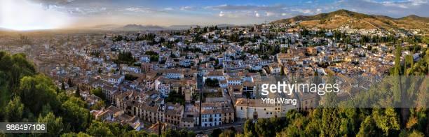 Panoramic view of Granada