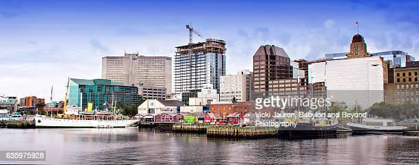 Panoramic View of Halifax Harbour, Nova Scotia Canada