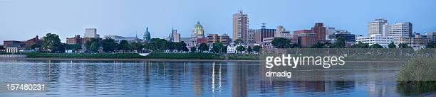 Panoramic View of Harrisburg, Pennsylvania