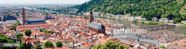 XXXL: Panoramic view of Heidelberg, Germany