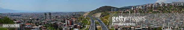panoramic view of highway - emreturanphoto stock pictures, royalty-free photos & images