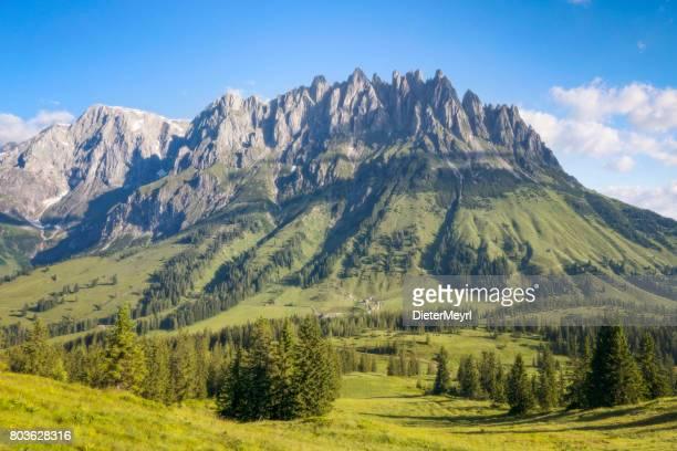 Panoramablick auf Hochkönig - Mandlwände - Alpen