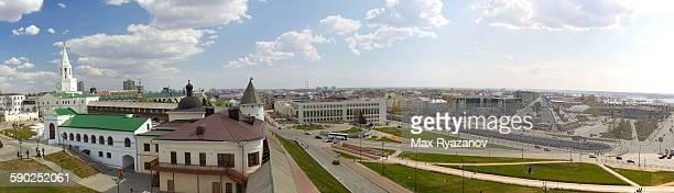 Panoramic view of Kazan