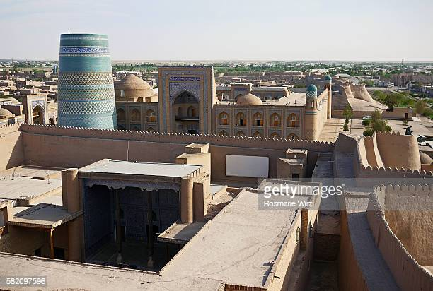 Panoramic view of Khiva
