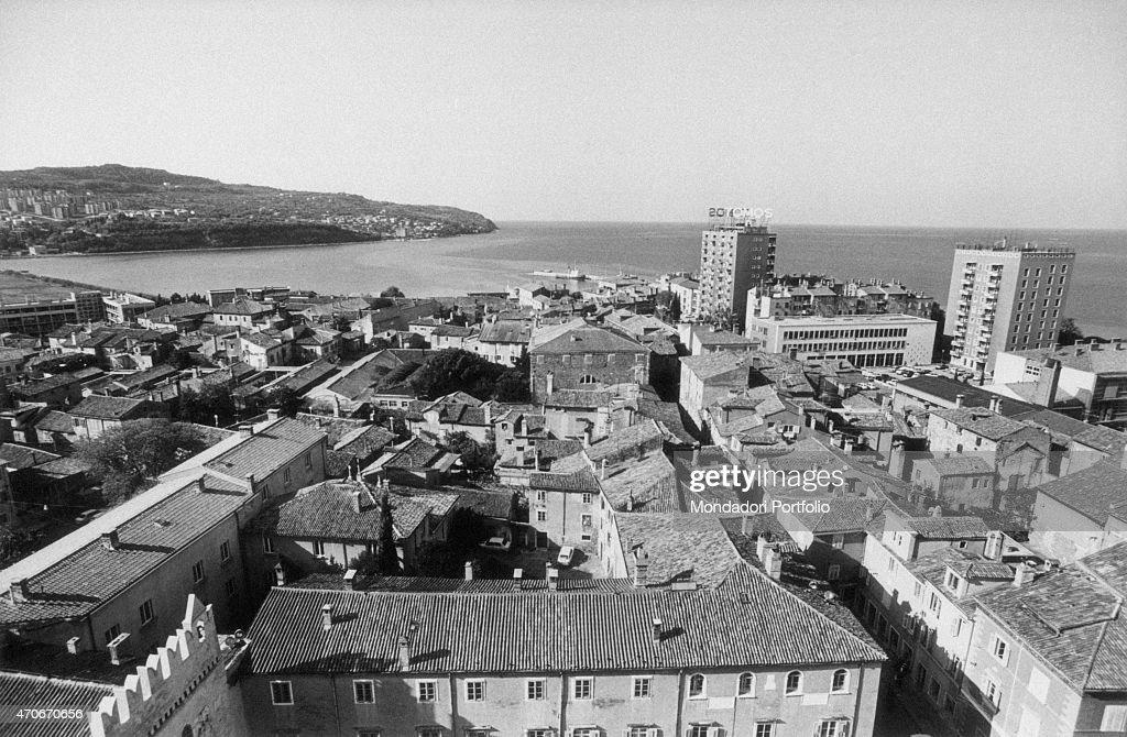 Panoramic view of Koper : News Photo