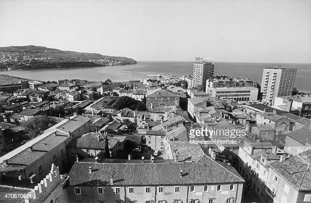 Panoramic view of Koper Koper November 1975