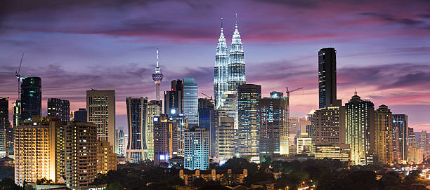 Panoramic View Of Kuala Lumpur Wall Art