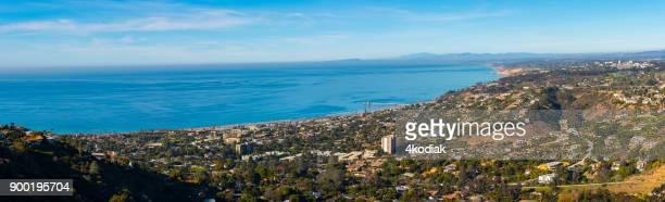 Panoramic View of La Jolla at San Diego