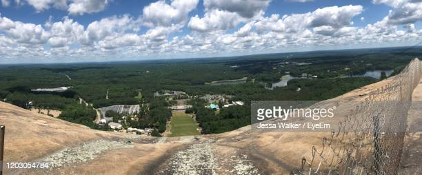 panoramic view of landscape against sky - jessa stock pictures, royalty-free photos & images