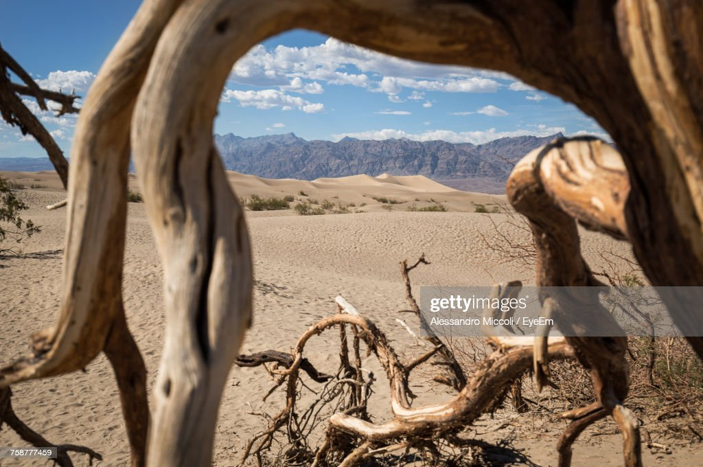 Panoramic View Of Landscape Against Sky : Stock Photo