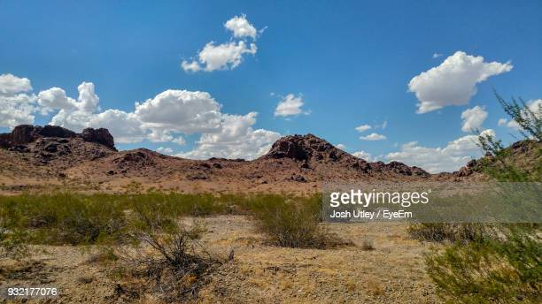 panoramic view of landscape against sky - josh utley stock pictures, royalty-free photos & images