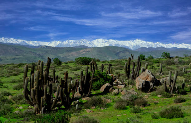 Panoramic view of landscape against sky,La Serena,Coquimbo,Chile