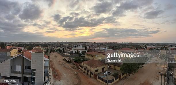 Panoramic view of Luanda in Angola