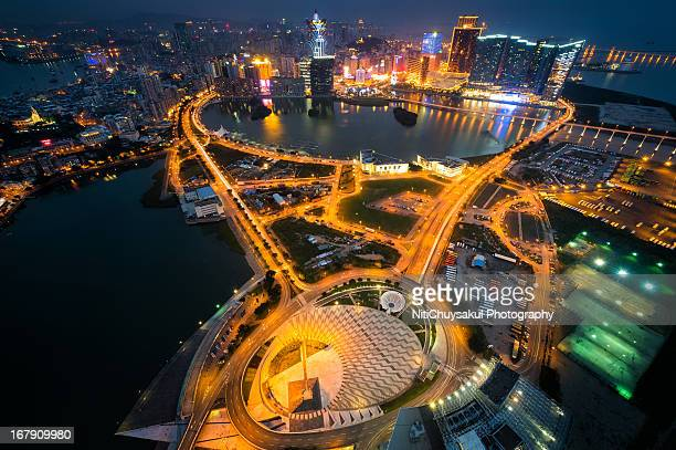 Panoramic view of Macau