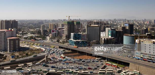 panoramic view of megenagna - addis ababa stock pictures, royalty-free photos & images