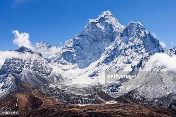 Panoramic view of mount Ama Dablam - Himalaya Range