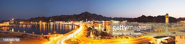 Panoramic View of Muscat, Oman.