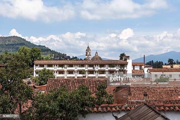 Panoramic view of Patzcuaro, Mexico