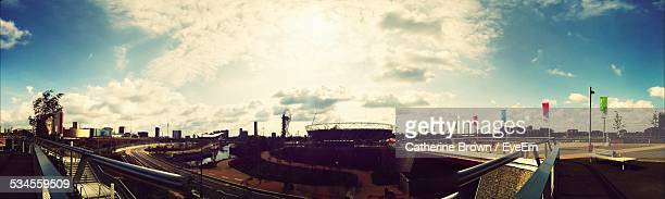 Panoramic View Of Queen Elizabeth Olympic Park