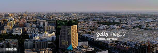 Panoramic view of Riyadh