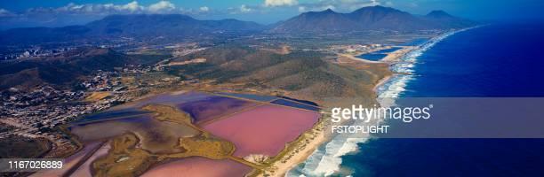 Panoramic view of  salt mines