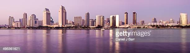 panoramic view of san diego - barr stock pictures, royalty-free photos & images