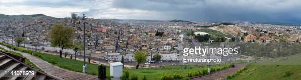 panoramic view of sanliurfa old town. - şanlıurfa stock pictures, royalty-free photos & images