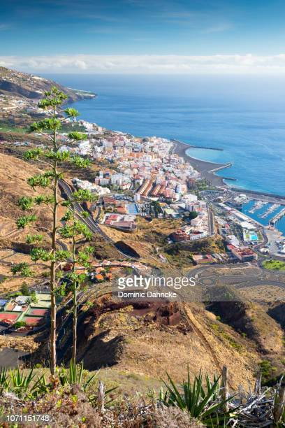 Panoramic view of Santa Cruz de La Palma city, Canary Islands