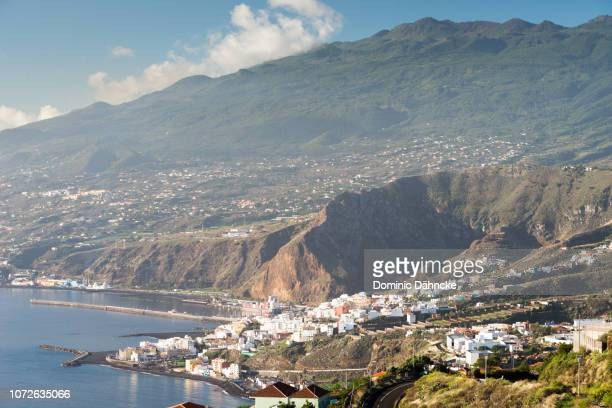 Panoramic view of Santa Cruz de La Palma city, in Canary Islands (Spain)