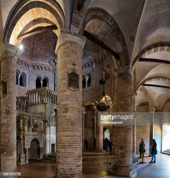 panoramic view of santa stefano basilica. - emreturanphoto stock pictures, royalty-free photos & images