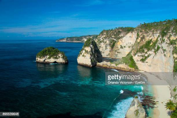 panoramic view of sea against blue sky - special:whatlinkshere/file:lucerne_circle,_orlando,_fl.jpg stock pictures, royalty-free photos & images