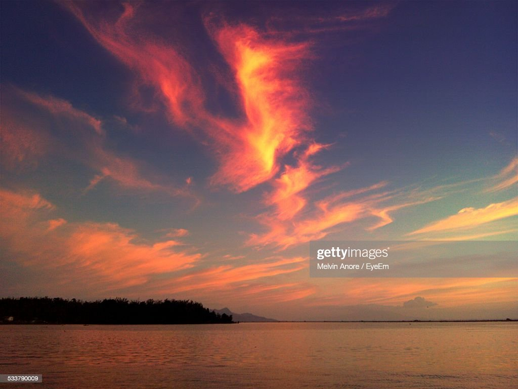 Panoramic View Of Seascape : Foto stock