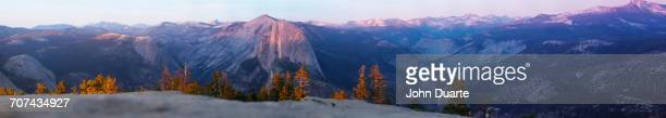 Panoramic view of Sentinel Dome at Yosemite National Park, California, United States