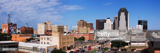 panoramic view of shreveport cityscape, louisiana, united states - shreveport stock pictures, royalty-free photos & images