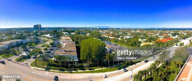 Panoramic view of Singer Island, Florida