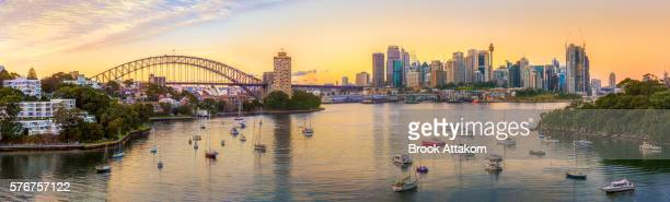 Panoramic view of Sydney CBD, Australia