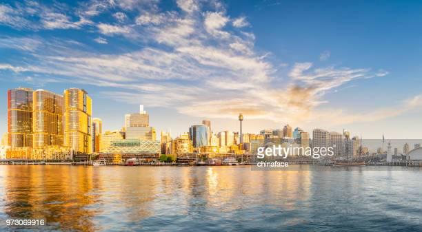 Panoramic view of sydney harbor,Australia