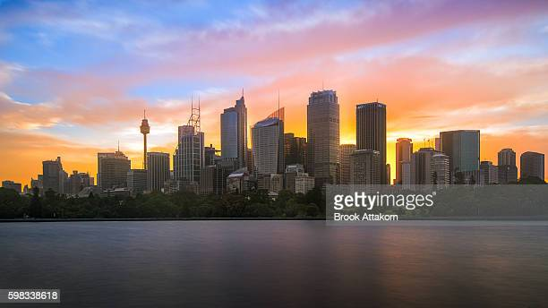 Panoramic view of Sydney