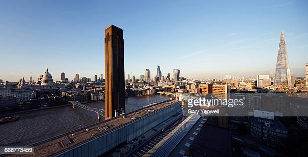 Panoramic view of the City of London skyline