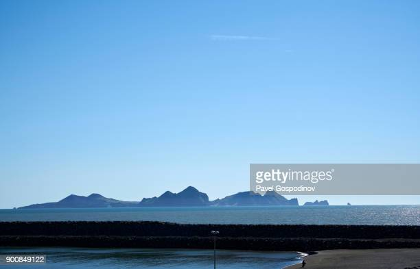 Panoramic view of the Vestmannaeyjar (Western Islands), Iceland