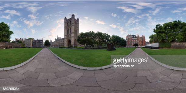 360° Panoramic View of the Westminster Palace, London