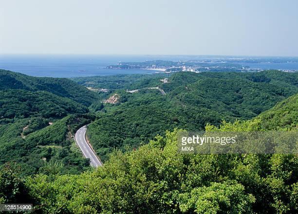 Panoramic View of Toba, Toba, Mie, Japan