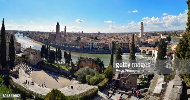 Panoramic view of Verona, Veneto, Italy