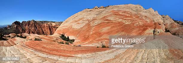 Panoramic View Of Yant Flat Wilderness Area near St. George, Utah