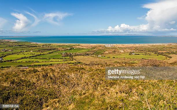 Panoramic view on Tralee Bay, Dingle Peninsula, County Kerry, Republic of Ireland