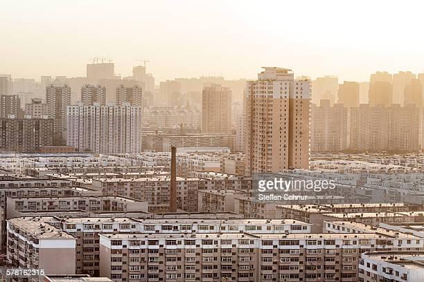 Panoramic view residential area China Shenyang